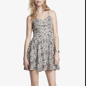 Express Snake Skin Dress 0 NWT